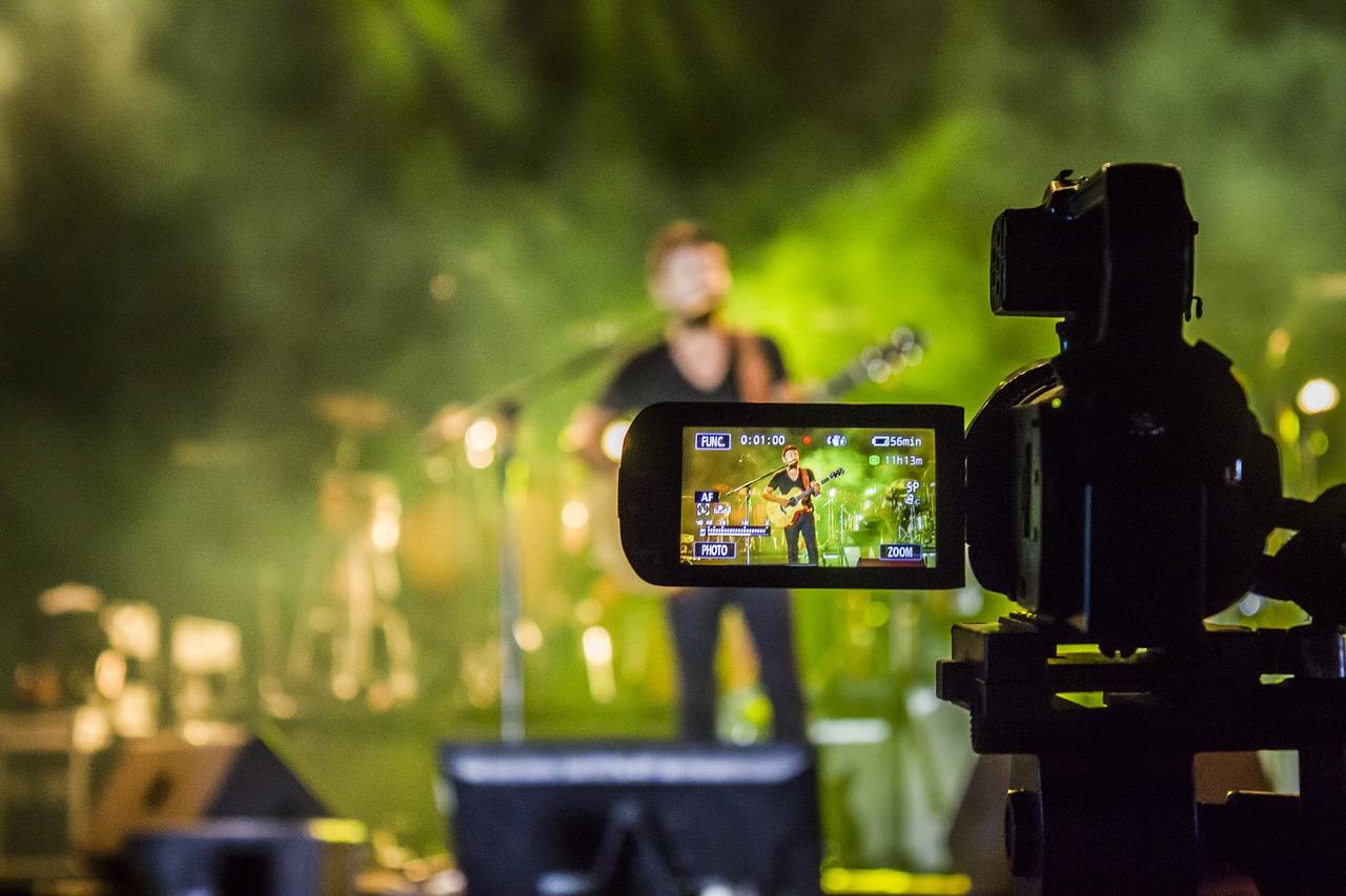 Tournage vidéo concert live